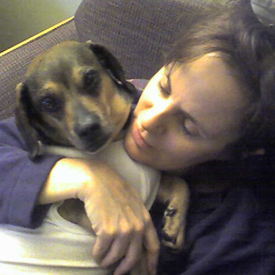 Heidi Mastrogiovanni, with Chester