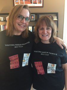 Writing While Female, 2017 Tour - Readings by Authors Heidi Mastrogiovanni and Teri Emory